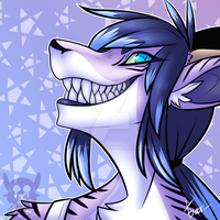 Toothy babe by Ltlka55