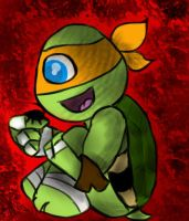 Mikey by SuperturtleShellhead