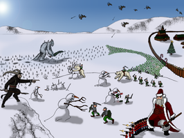 The Defense of the North Pole by OperaGhost21