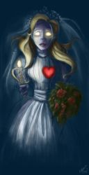 that's one lonely bride by Emmacabre