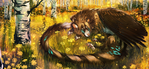 Aspen Forest by NukeRooster