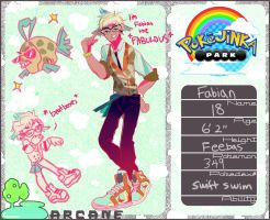 PKJP: Fabian the Fabulous Feebas by friendwish