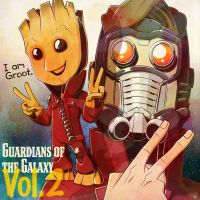 Guardians of the Galaxy Vol.2 by RoB-artworks