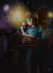 Late night studies by 11newells