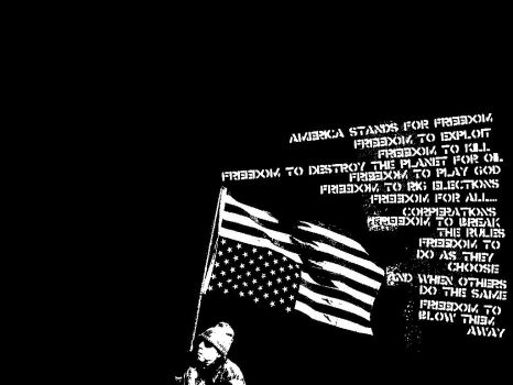 America Stands For Freedomw by deevon