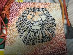 Lion King Mosaic by Everythingthatwasnt