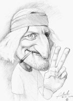 woody harrelson peace by Nico4blood