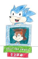 Sonic and Sally on Tattletales by dth1971
