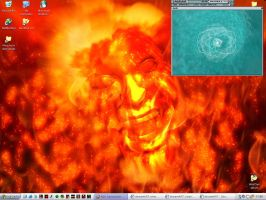Infernal desktop by chain