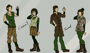 Modern Swamp Bender Style (For My Fanfiction) by DropDeadThenDance