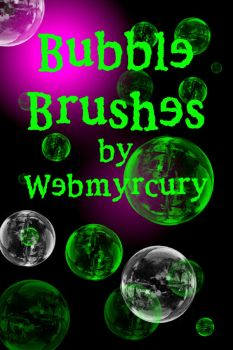 bubble brushes for PS6 by Myrcury-Art