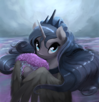 Luna with Lavender by Bakuel