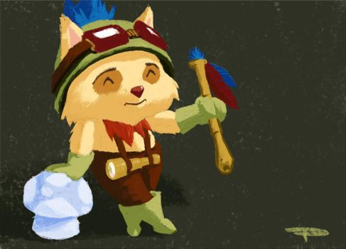 Captain Teemo by Xavisavvy