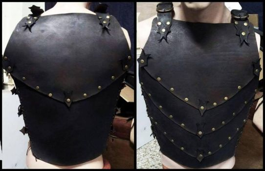 Fantasy leather armor by ForgeCreations