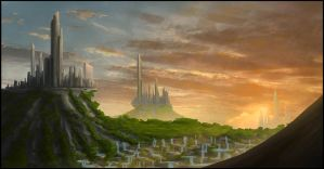 Concept Cities by NartikArts
