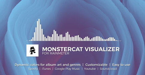 Monstercat Visualizer for Rainmeter by MarcoPixel