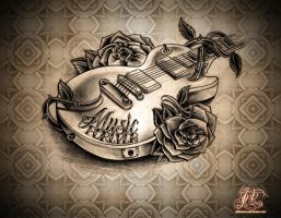 Music Forever PRINT by WillemXSM