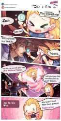Zoe and Gem 2 - End by beanbeancurd