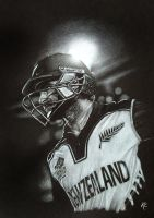 Kane Williamson BlackCap by MissKuney