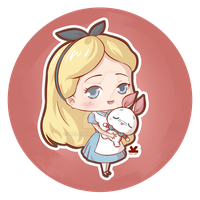 Alice in Wonderland - Chibi Cel Shading Style by Kelsa20