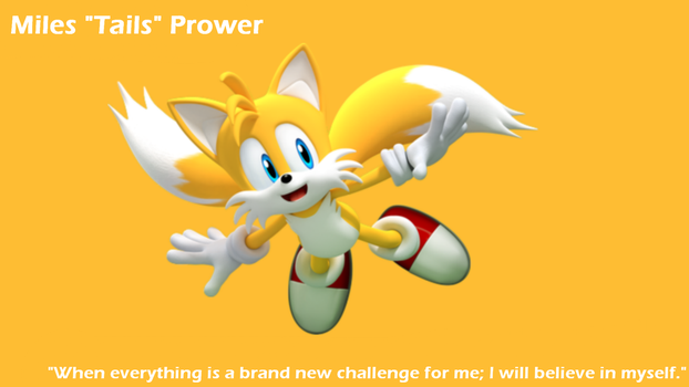 Miles Tails Prower Background by SweetCandace