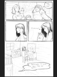 Tales of Feathers and Fangs Sample Page 1 by SteeKira
