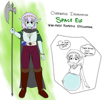 Remedia Stellaspear, 'Space' Elf by superspacezone