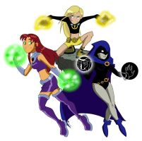 Teen Titans Girls by zzleigh