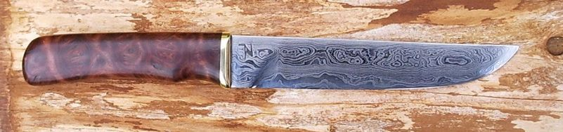 Red Malee knife by Silver11k