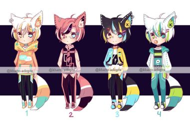 *lowered price* Set price bishies [OPEN 1/4] by khatto-adopts