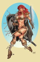 Red Sonja by jeanx13