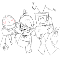The Gang Of Idiots Doddle by merryjayne13