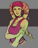 [Sketch] - Hera Syndulla by Chyche