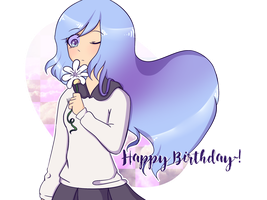 (COLLAB) Happy Birthday :0 by Alumeii