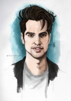 Brendon Urie / colored by Leadto-Light