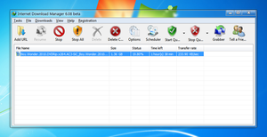 Windows 7 IDM Toolbar Icons by yethzart