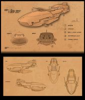 Personal Ship Concept by BlueRogueVyse