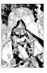 Magdalena cover inks by madman1