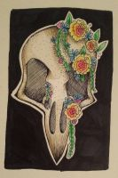 Bird Skull by MissDiewell
