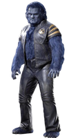 X-Men's Beast: Transparent Background! by Camo-Flauge