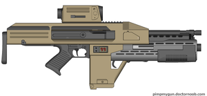 M41B Pulse rifle by Robbe25