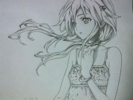 Inori From GUILTY CROWN by chris-reen