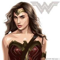 The Wonder Woman by billyjour