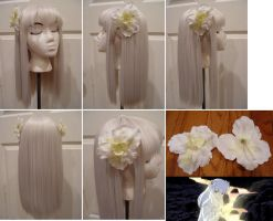 Kanna wig from InuYasha by taiyowigs