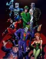 BTAS Rogues by tylercairnsart