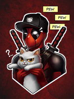 Pew Pew Pew by Beyond-your-soul