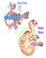 Chimereons Set 4 -CLOSED- by ground-lion