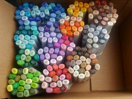 Copic Sketch Marker Collection by Zalcoti