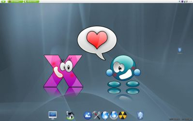 Ti Loves X by DTux