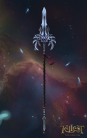 Mythril Spear by Mikedeangelo